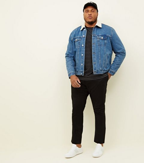 d57b7418a Men' Denim Jackets | Men's Black Denim Jackets | New Look
