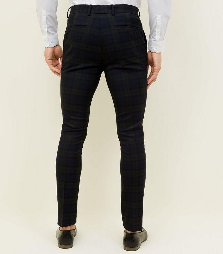 f3166bce4ba ... Dark Green Black Watch Check Skinny Trousers. ×. ×. ×. 1