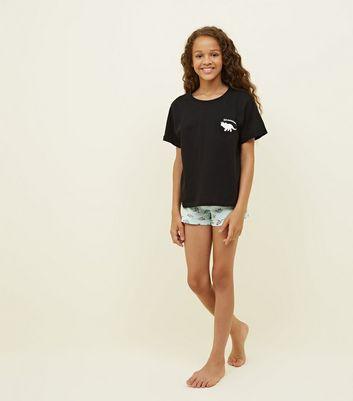 Thin shorts teen