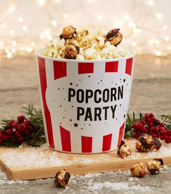 Red Fizzy Wine Flavoured Popcorn Party Set