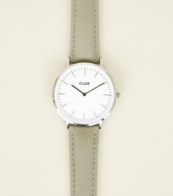 Cluse Pale Grey La Bohème Watch