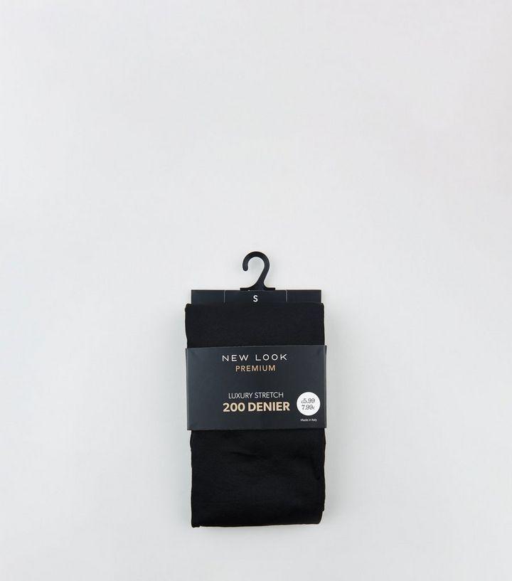 3cd160afc195e Black Premium Stretch 200 Denier Tights | New Look