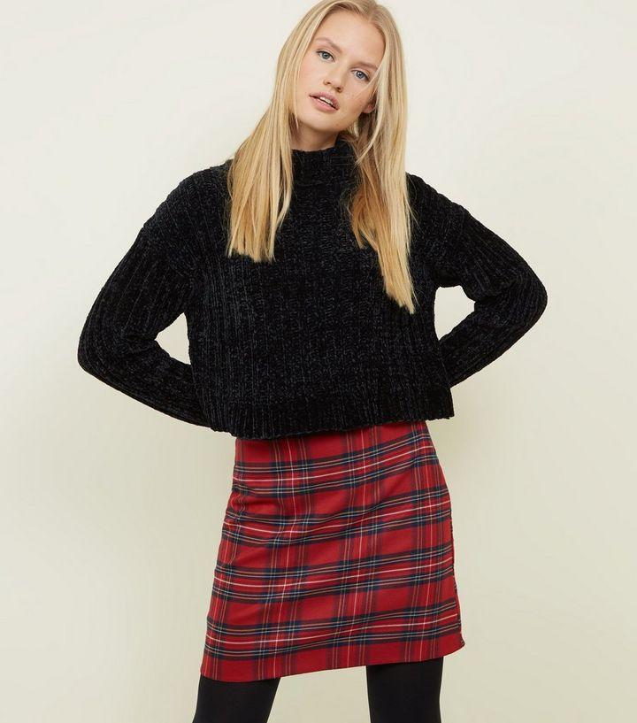 209d95841 Red Tartan Check A-Line Mini Skirt | New Look
