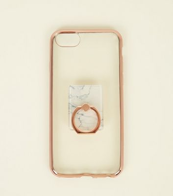 Rose Gold Ring Holder iPhone 6/6s/7/8 Case