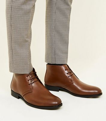 Tan Formal Chukka Boot
