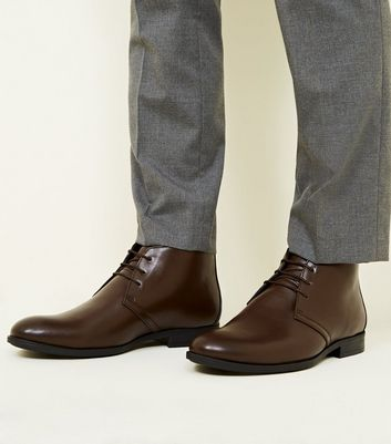 Dark Brown Formal Chukka Boots