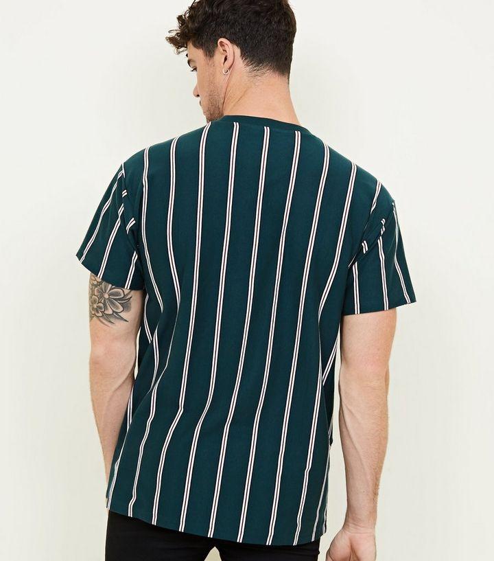 f04f3e3815 ... Dark Green Vertical Stripe T-Shirt. ×. ×. ×. Shop the look