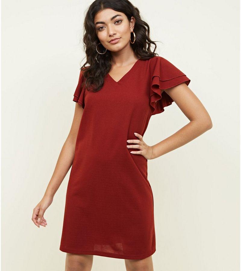 New Look - frill sleeve dress - 3