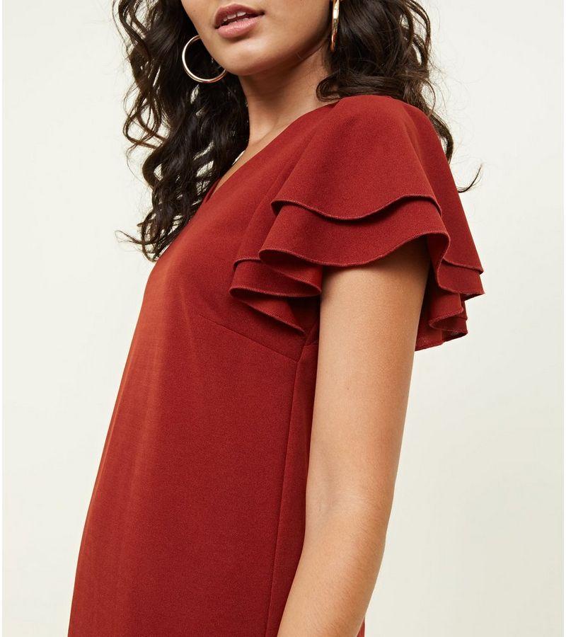 New Look - frill sleeve dress - 4