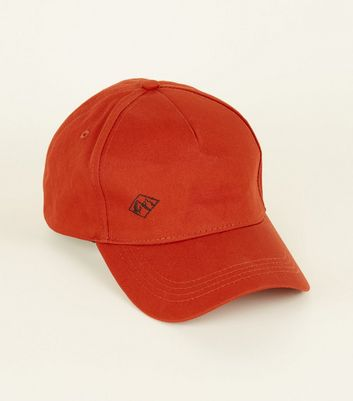 Rust Mountain Embroidered Cap