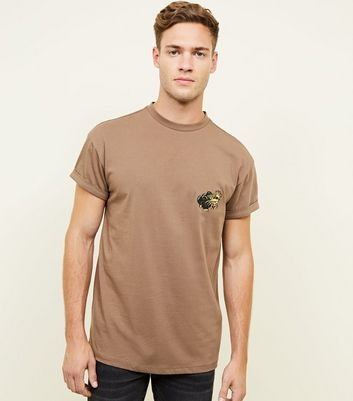 Mink Panther Embroidered T-Shirt