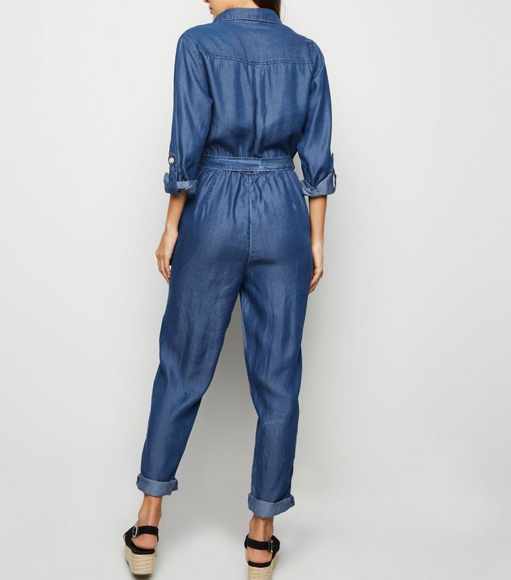 5f371c670d0d ... Blue Lightweight Boiler Jumpsuit. ×. ×. ×. Shop the look