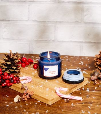 Navy Rum Winter Punch Scented Candle