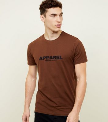 Dark Brown Apparel Logo T-Shirt