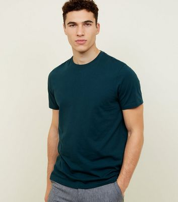 Teal Crew Neck T-Shirt
