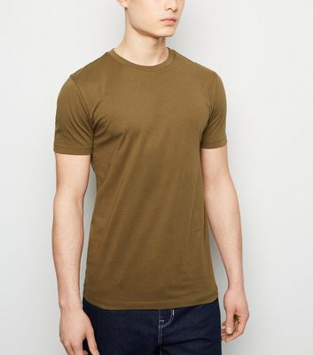 Green Muscle Fit T-Shirt
