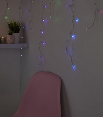 Multicoloured 310cm Waterfall Fairy Lights