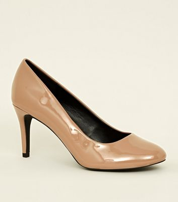Camel Round Toe Court Shoes