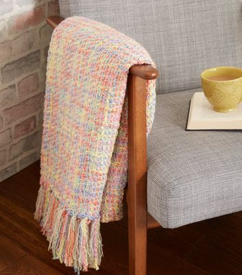 Rainbow Woven Throw