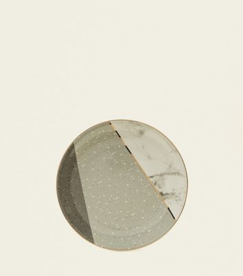 Dark Speckle And Marble Print Plate by New Look