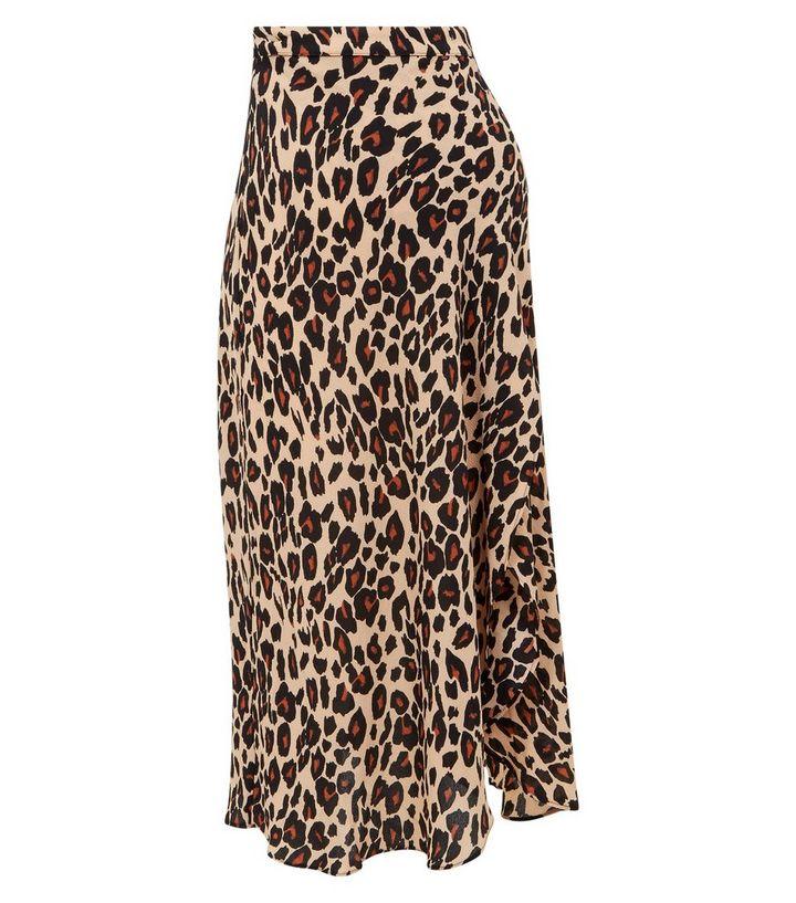35d6f56db31a5 ... Maternity Brown Leopard Print Midi Skirt. ×. ×. ×. Shop the look