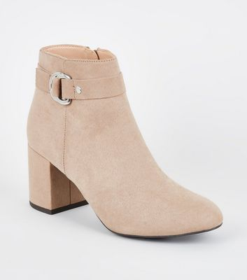 Light Brown Comfort Flex Ring Side Ankle Boots