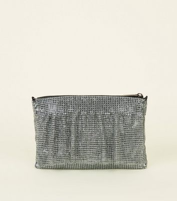 Silver Chainmail Side Bag