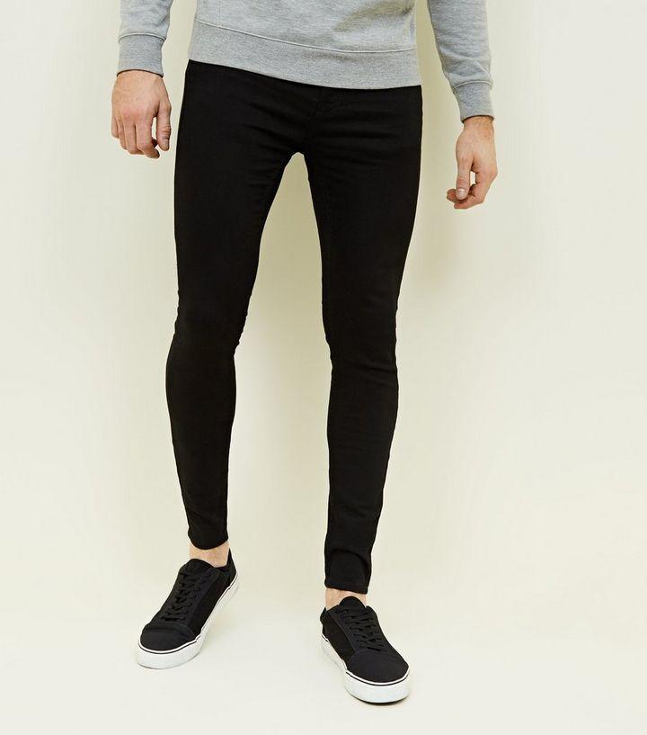 bekannte Marke stylistisches Aussehen Straßenpreis Schwarze, superenge Skinny Jeans in Farbspritzer-Optik Für später speichern  Von gespeicherten Artikeln entfernen