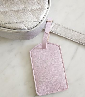 Pink Bye Bye Luggage Tag