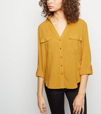 Yellow Lightweight Utility Shirt