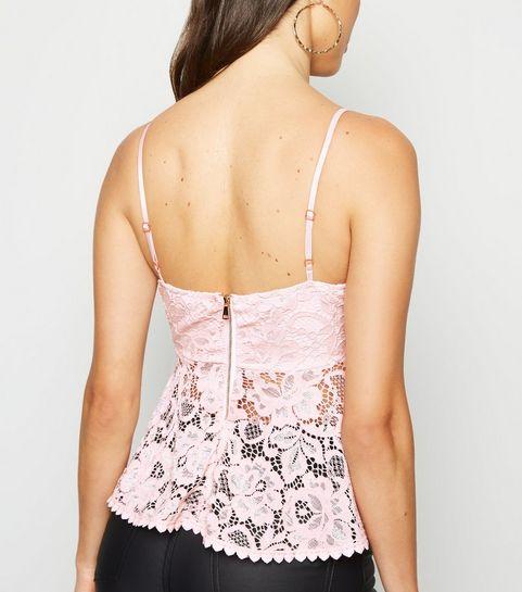 a2a6c80e81f Cami Tops   Lace Cami Tops & Camisole Tops   New Look