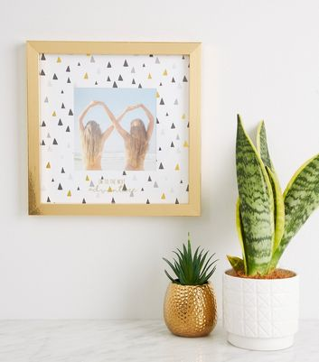 Gold Square Photo Frame