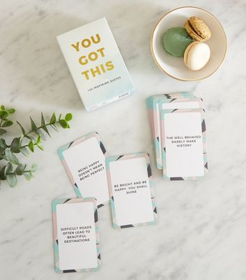 Teal Ombré You Got This Inspiration Card Set