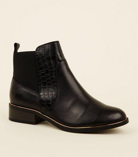 Chelsea Boots Damen   Chelsea-Stiefel   New Look 7b08dcc022