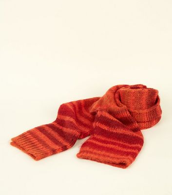 Orange Knit Extra Long Knit