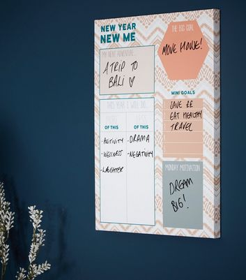Multicoloured Geometric New Year Planner