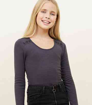 f1b06c3987baa6 Teens Long Sleeve Tops | Girls Long Tops | New Look