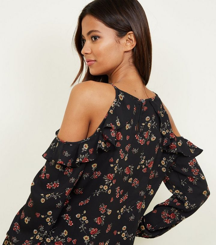 aa330a8579602 ... Ditsy Floral Cold Shoulder Top. ×. ×. ×. Shop the look