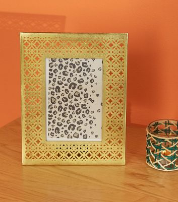 Gold Cut Out Photo Frame