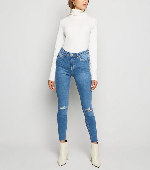695e8c7fab High Waist Super Skinny Jeans | High Rise Jeans | New Look