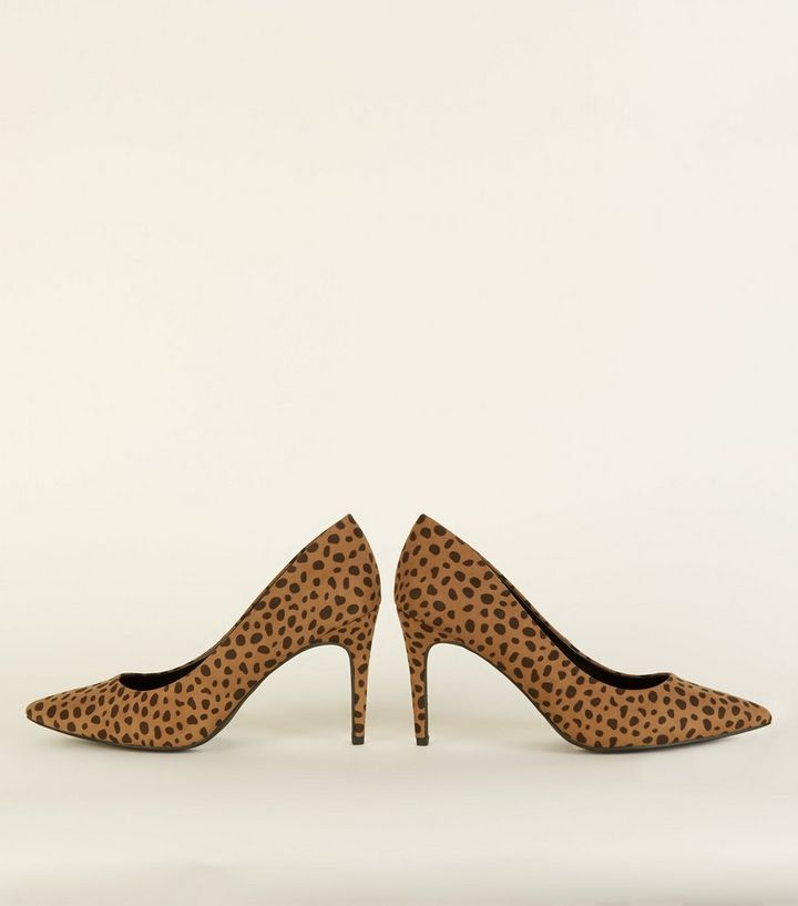 60d9199528c ... Brown Animal Print Pointed Court Shoes. ×. ×. ×. Shop the look