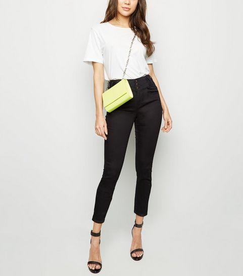 38d27e4325ed ... Black High Waist Skinny Yazmin Jeans ...