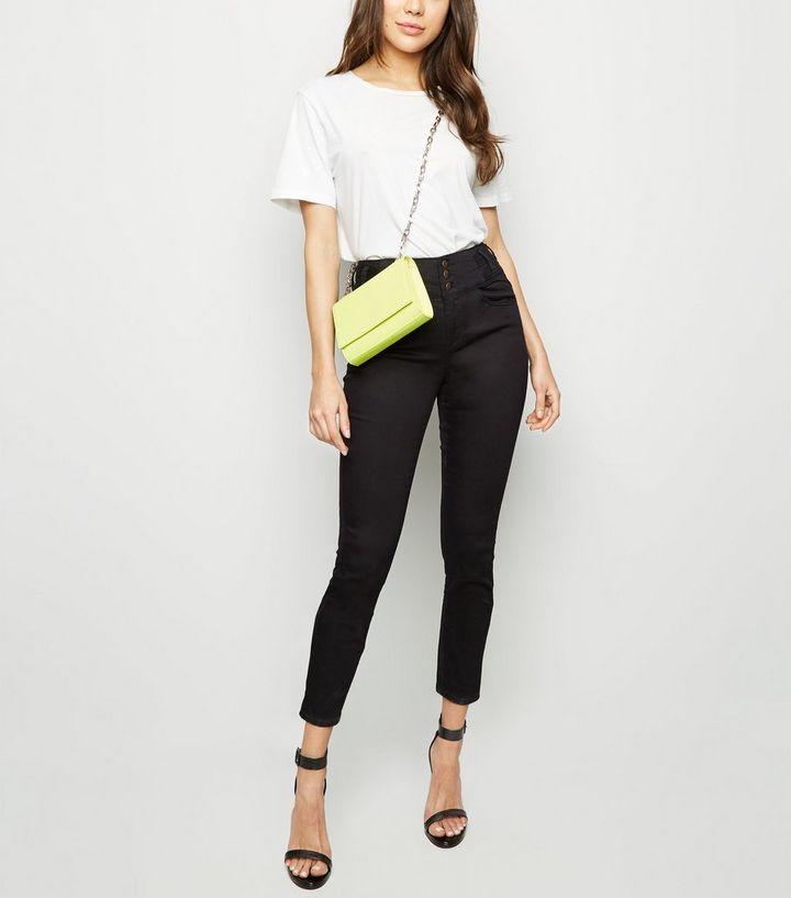 0861c766282de Black High Waist Skinny Yazmin Jeans