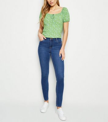 Blue Super Soft Super Skinny India Jeans