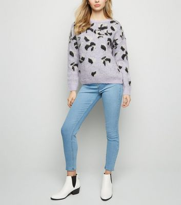 Tall Pale Blue Bleached Jeggings
