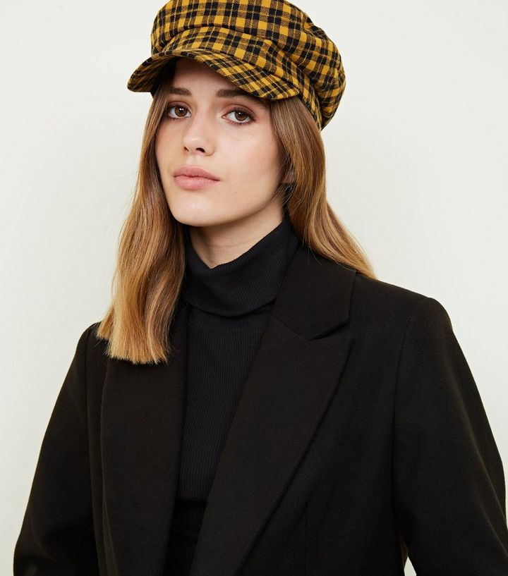 d80fee1041f ... Yellow Check Baker Boy Hat. ×. ×. ×. Shop the look