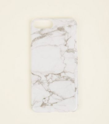 Grey Marble Effect iPhone 7/8 Plus Case