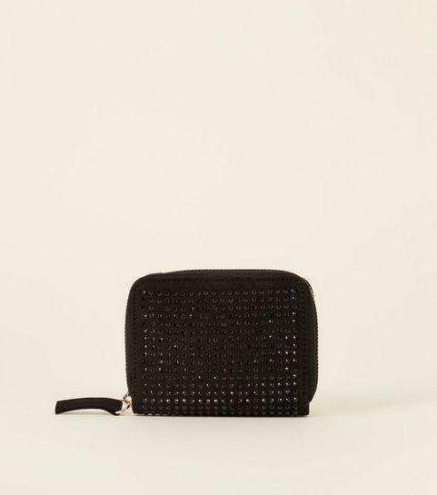 aa6b3f3e5c29 Black Studded Cardholder · Black Studded Cardholder ...