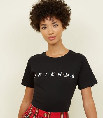 Black Friends Logo T-Shirt