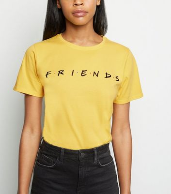Yellow Friends Logo T-Shirt